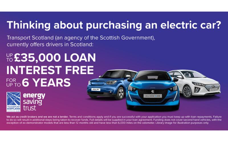 Transport Scotland Funding Interest-Free Electric Vehicle Loans