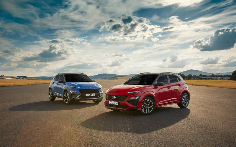 Hyundai Reveals Newly Updated Kona and Launches All-New Kona N Line