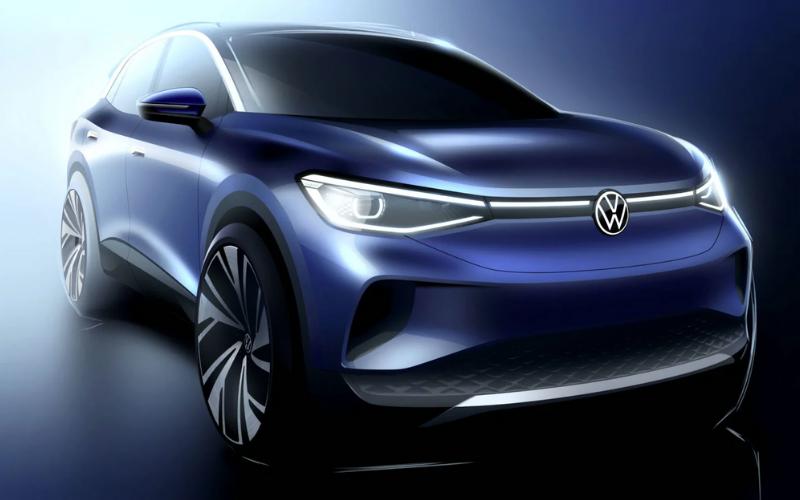 Volkswagen Reveals The 2021 ID.4's Interior