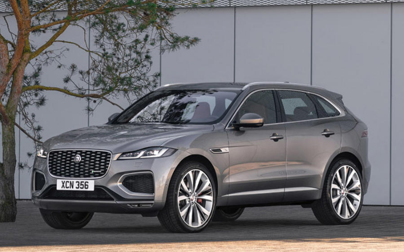 Meet The Next Jaguar F-PACE: Arriving Spring 2021