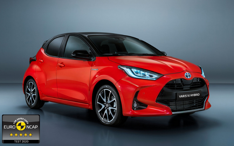 The All-New Toyota Yaris Has Been Awarded A 5 Star NCAP Safety Rating