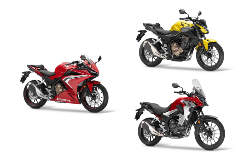 Honda Has Revealed Their Three New CB500 Models For Next Year