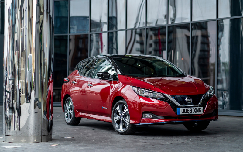 Nissan Leaf Named 2021 Used Electric Car of the Year in What Car? Awards