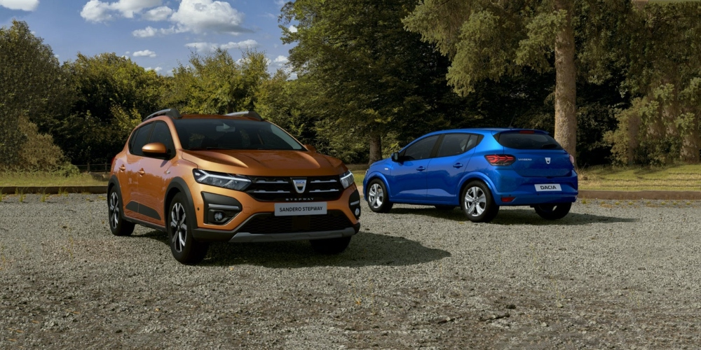 Dacia Launches Third Generation Sandero, Sandero Stepway and Logan