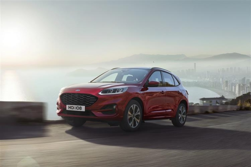 Ford Kuga Awarded 'Good' Rating in Euro NCAP Assisted Driving Test