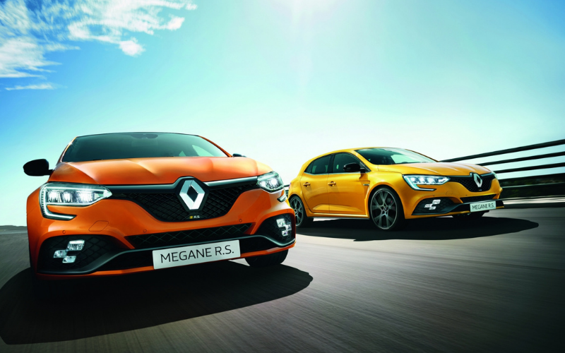 New Renault Megane R.S. 300 and R.S. Trophy Are Now Available to Order
