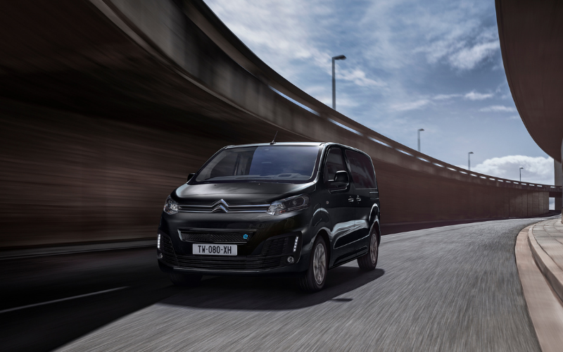 New 100% Electric Citroen E-SpaceTourer is Now Available to Order