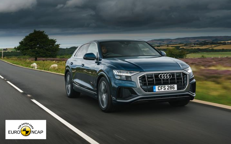 New Euro NCAP Assisted Driving Test Awards Audi Q8 'Very Good' Rating