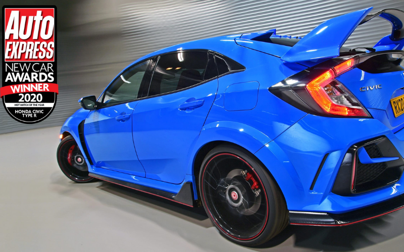 Honda Civic Type R Wins Hot Hatch Of The Year At Auto Express Awards 2020