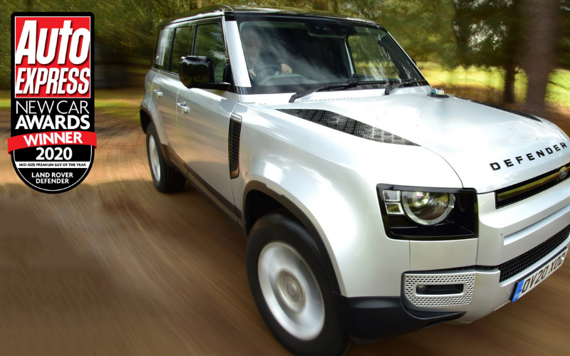 New Land Rover Defender Wins At Auto Express Awards 2020