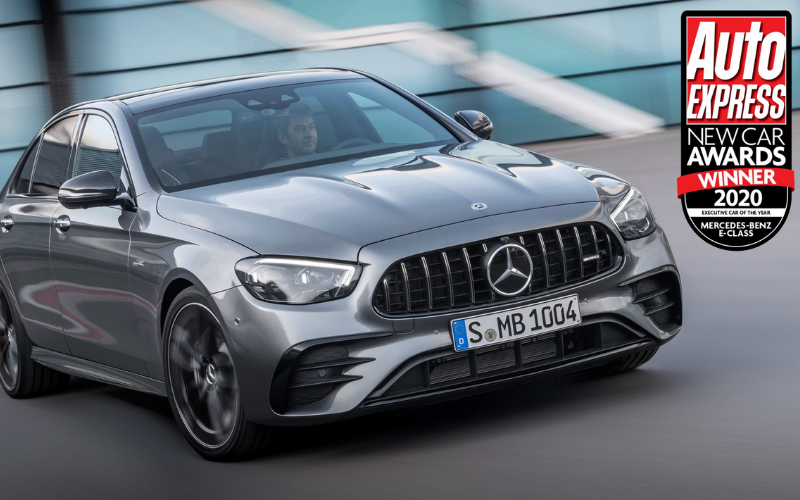 Mercedes-Benz Sees A Triple Win At Auto Express New Car Awards 2020