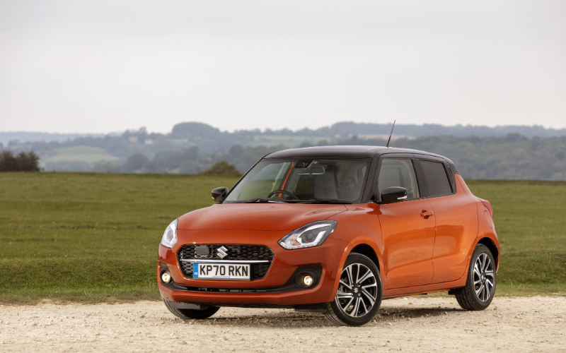 The Suzuki Swift Has Been Given a Facelift for 2021