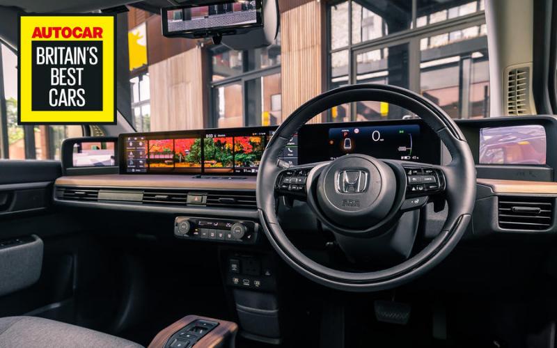 Honda E Wins Britain's 'Best In-Car Tech' Award