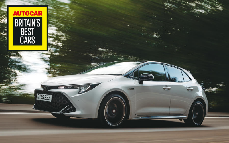 Toyota Wins 'Best Manufacturer' And 'Best Hybrid Car' Titles At Autocar Awards