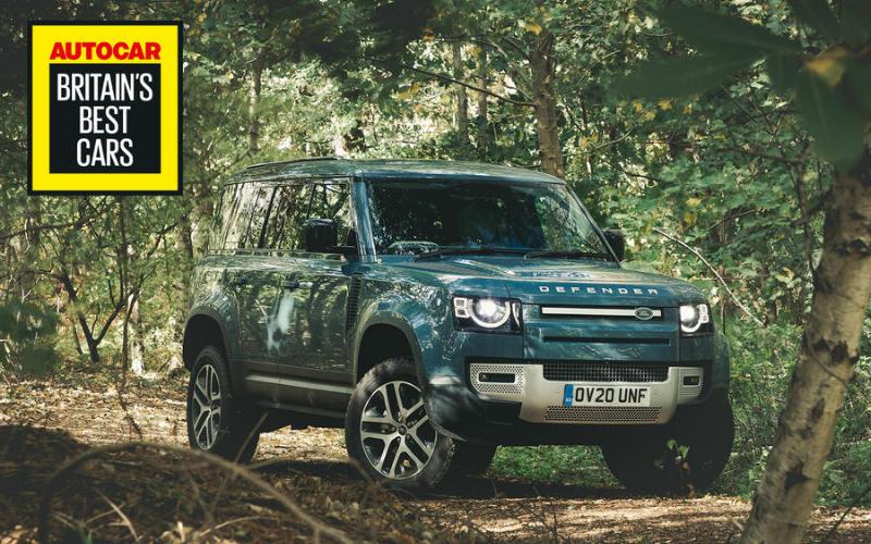 Land Rover Defender Named 'Best SUV' At Autocar's Britain's Best Car Awards
