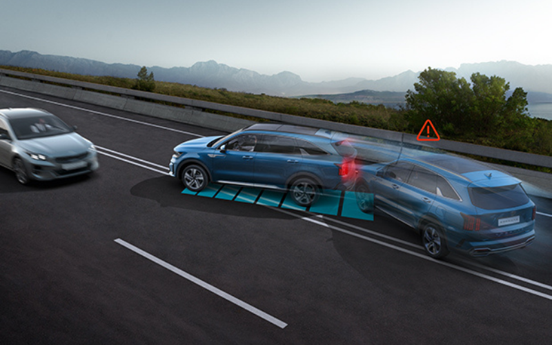 The All-New Kia Sorento Comes Equipped With Multi-Collision Braking System