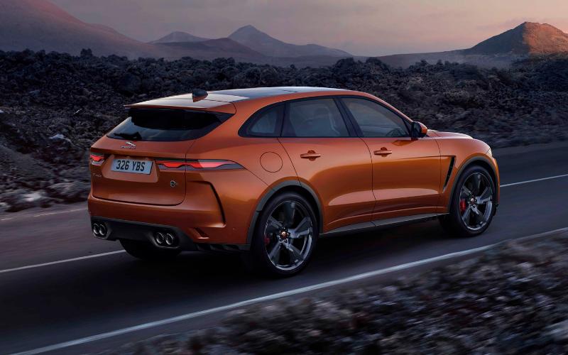 Meet The All-New Jaguar F-PACE SVR