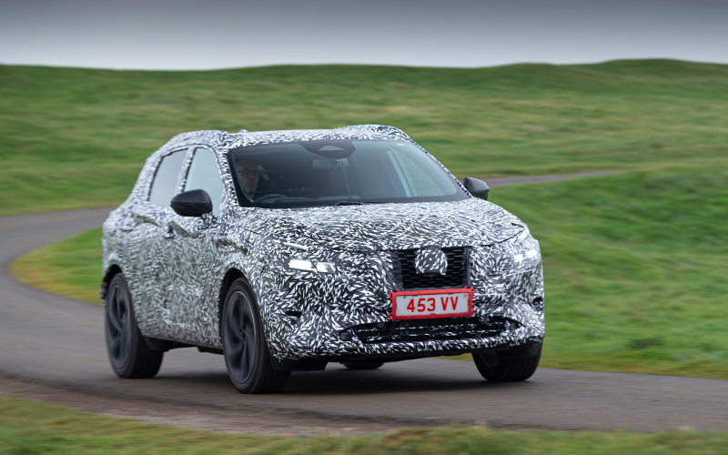 Another Teaser of the All-New Nissan Qashqai