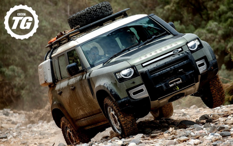The New Land Rover Defender Has Been Named Top Gear's 'Car of the Year'