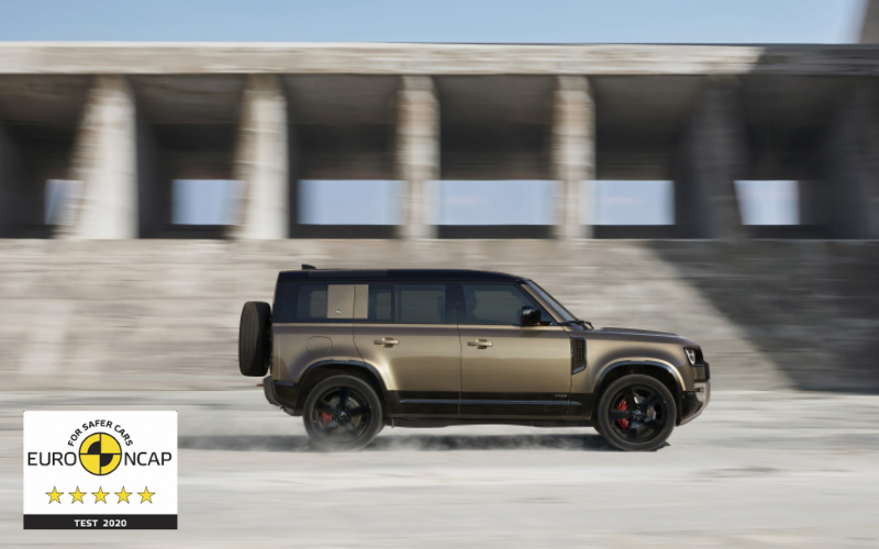 The New Land Rover Defender Has Been Awarded A 5 Star NCAP Safety Rating
