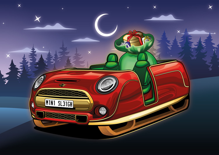 If Famous Car Brands Designed Santa's Sleigh