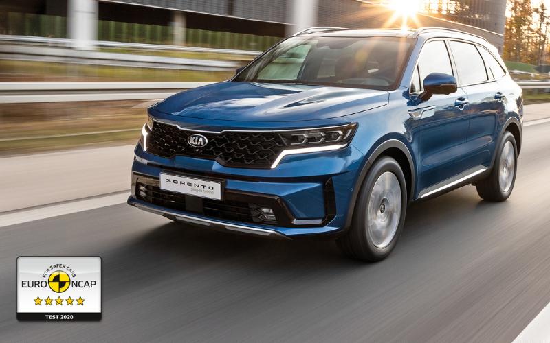Kia Sorento Awarded Euro NCAP 5-Star Safety Rating