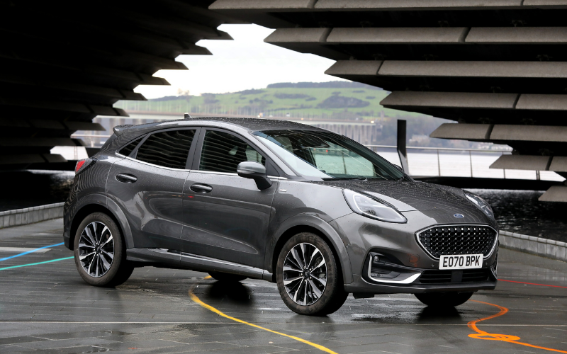 Ford Puma is Crowned Scottish Car of the Year 2020