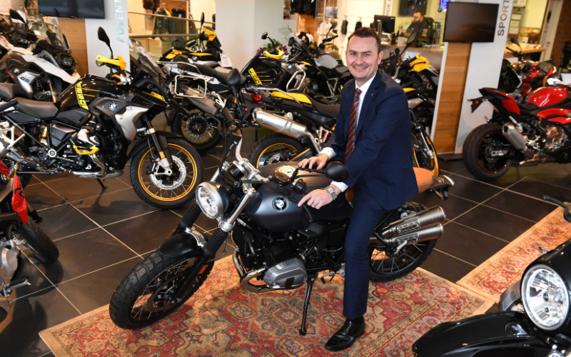 New Vertu Motors Brand Director Gears Up For Success in Motorcycles' Division