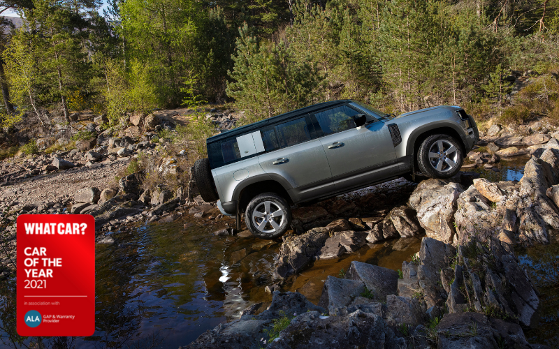 Land Rover Defender Named 'Best Large SUV For Off-Roading' By What Car?