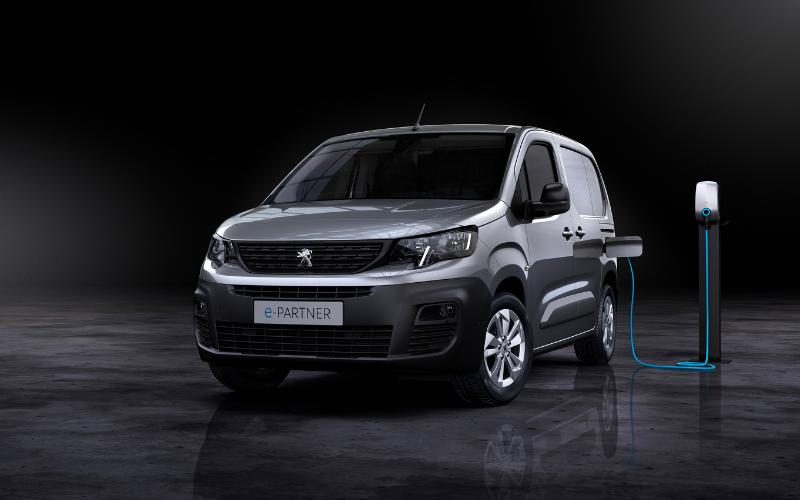 New e-Partner Joins Peugeot's Electric Range