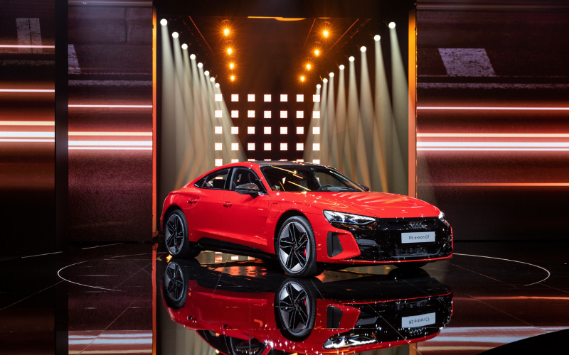 Watch The Online World Premiere Of The Audi E-Tron GT