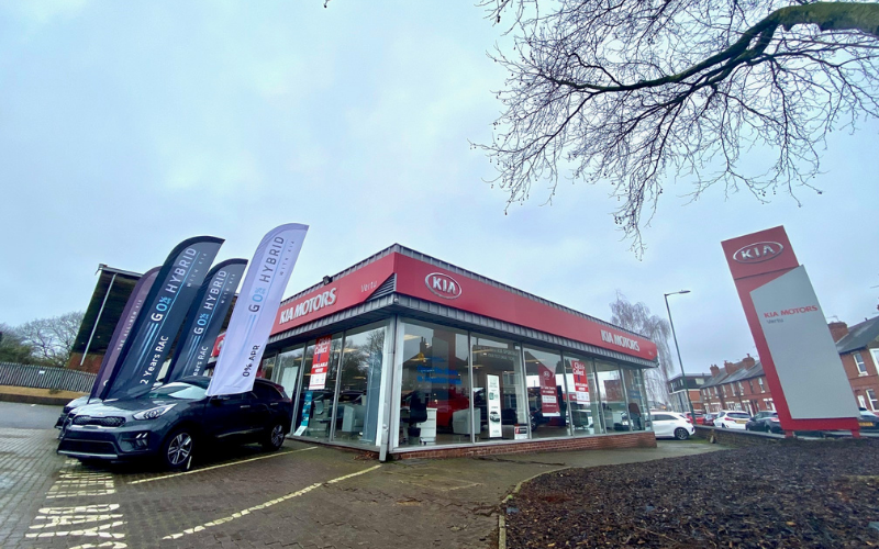 Vertu Motors Invests In Nottingham Kia Dealership