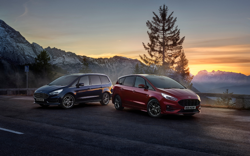Families Can Now Go Electric with the New Ford S-MAX Hybrid