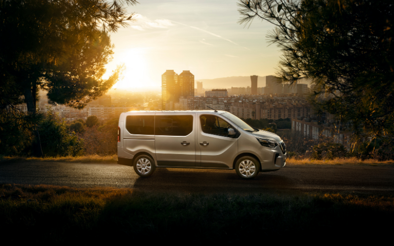 Nissan Updates the NV300 Combi with New Safety Tech and Powertrain Options
