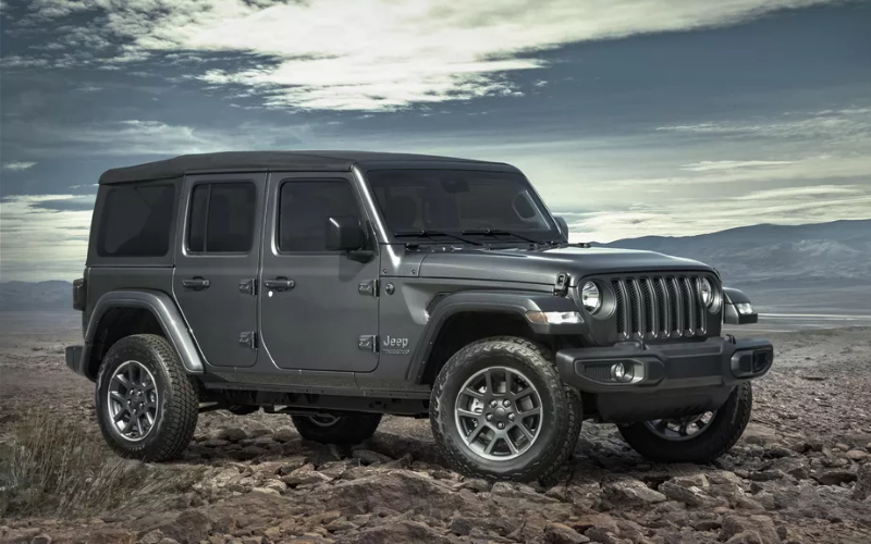 Jeep Celebrates 80th Anniversary With Limited Edition Models