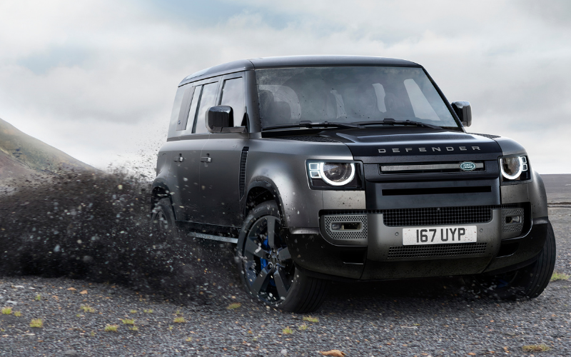 Get To Know The All-New Land Rover Defender V8