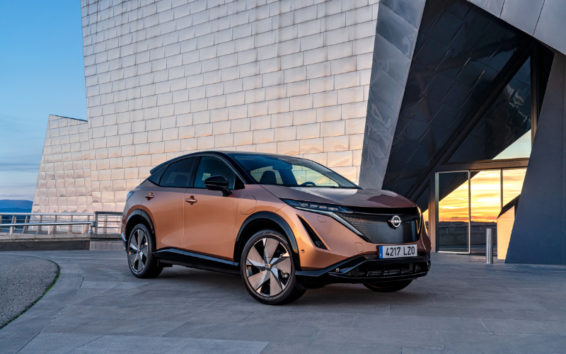 The All-New Nissan Ariya Will Be Available With 10 Colour Options