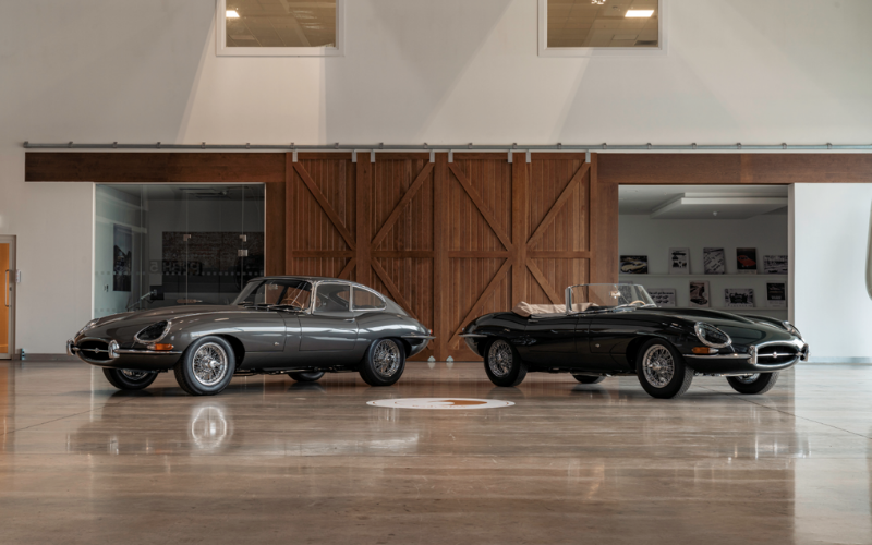 Jaguar Reveals The First E-Type 60 Collection Models