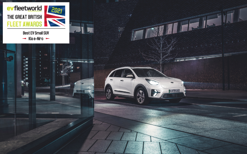 Kia e-Niro Crowned Best Electric Small SUV At Great British Fleet Awards