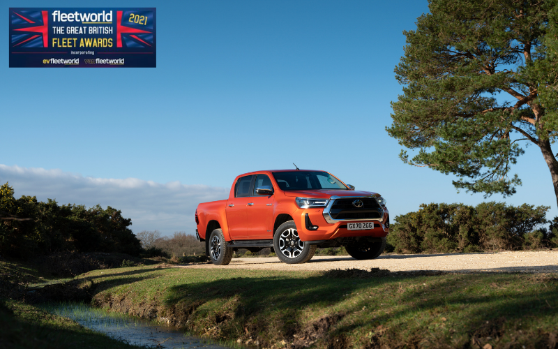 Toyota Hilux Named Pick-Up Of The Year At Great British Fleet Awards