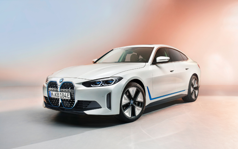 BMW Gives Us A Sneak Peek Of The All-Electric i4