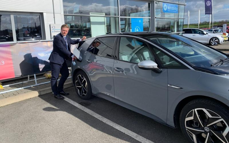 Electric Vehicle Accreditation For Vertu Volkswagen Harrogate