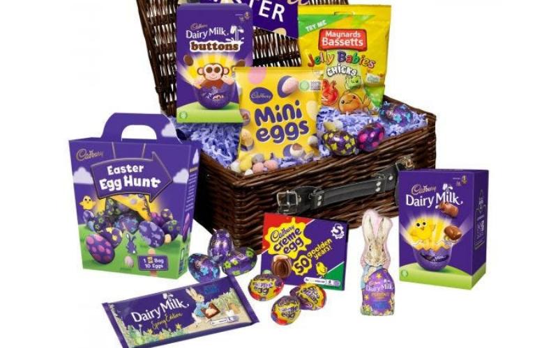 Win A Cadbury Sharing Easter Basket