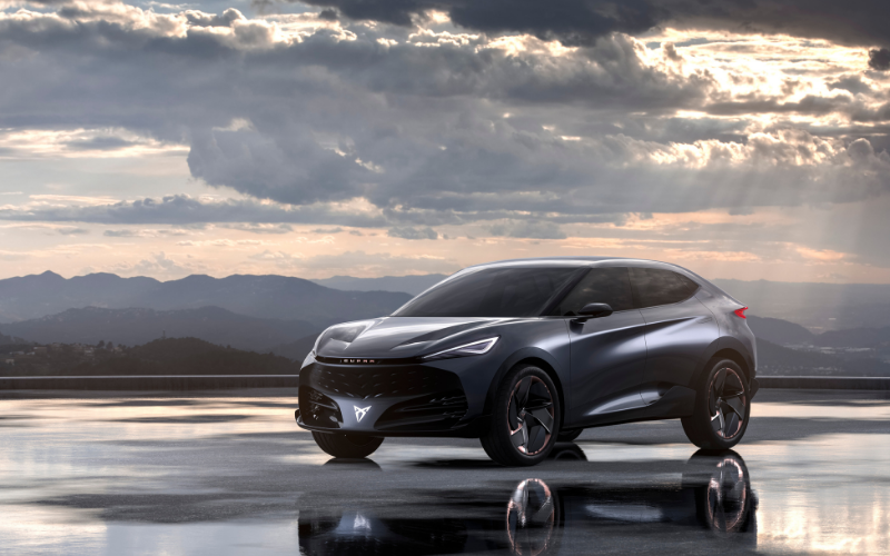 CUPRA Unveils Second Electric Model: The CUPRA Tavascan