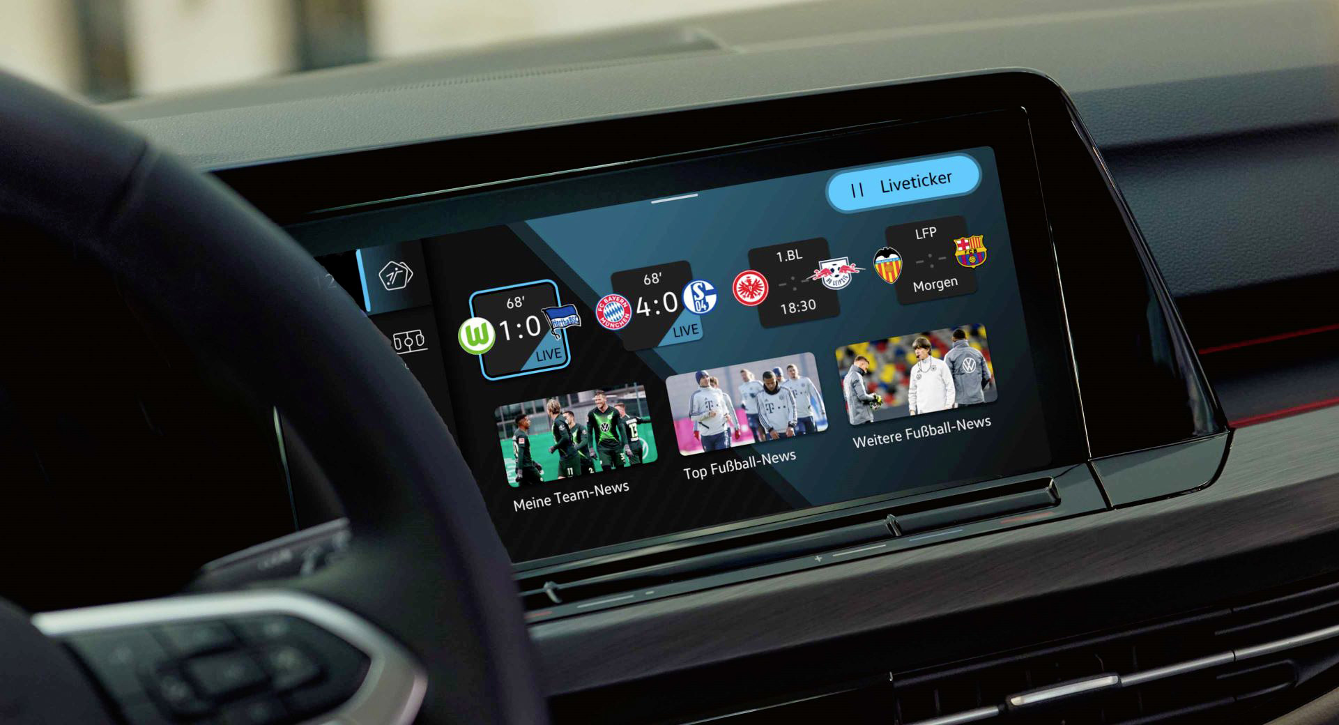 New 'We Score' App For Volkswagen Golf Drivers