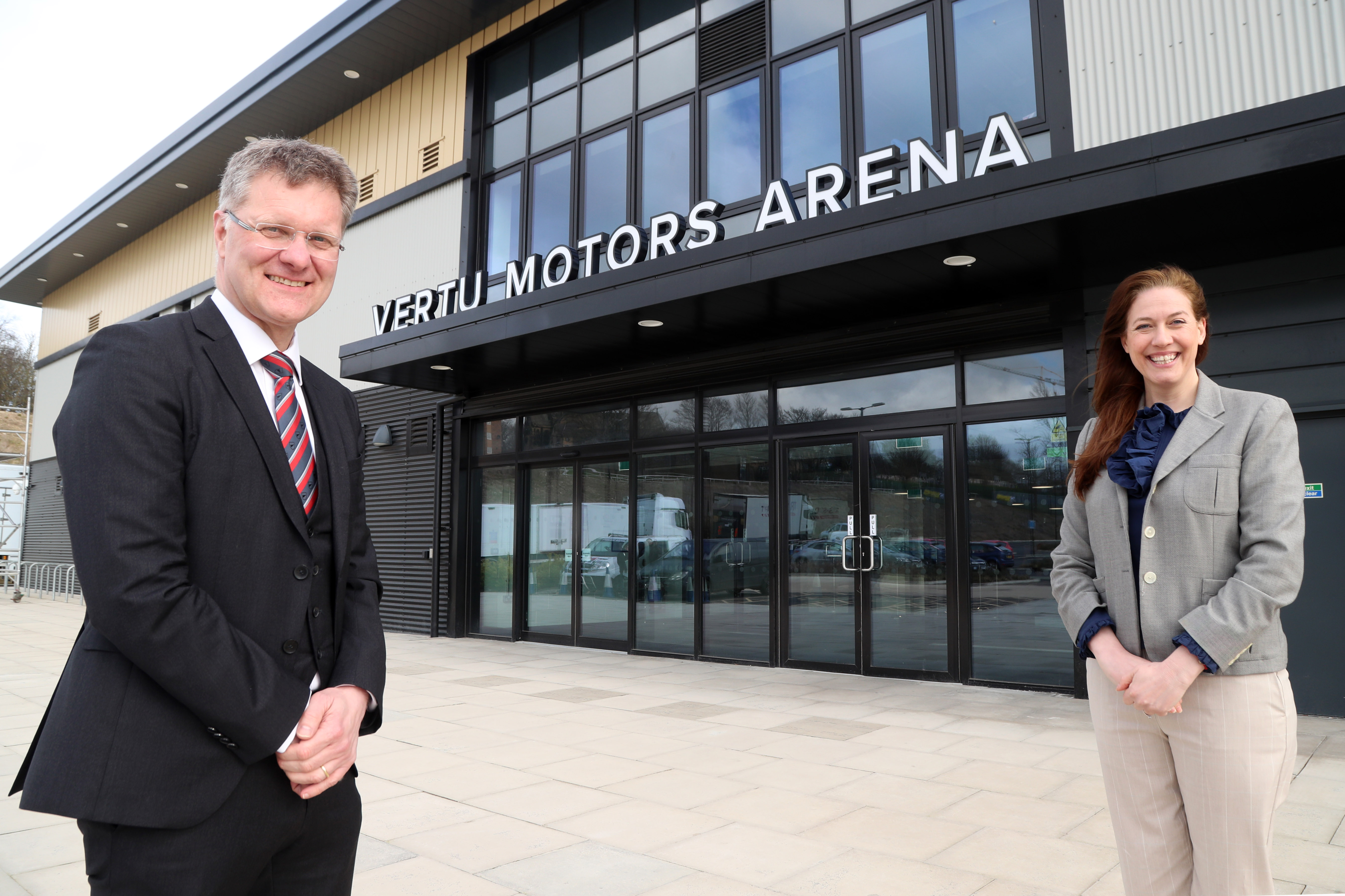Vertu Motors Arena Unveiled In Newcastle