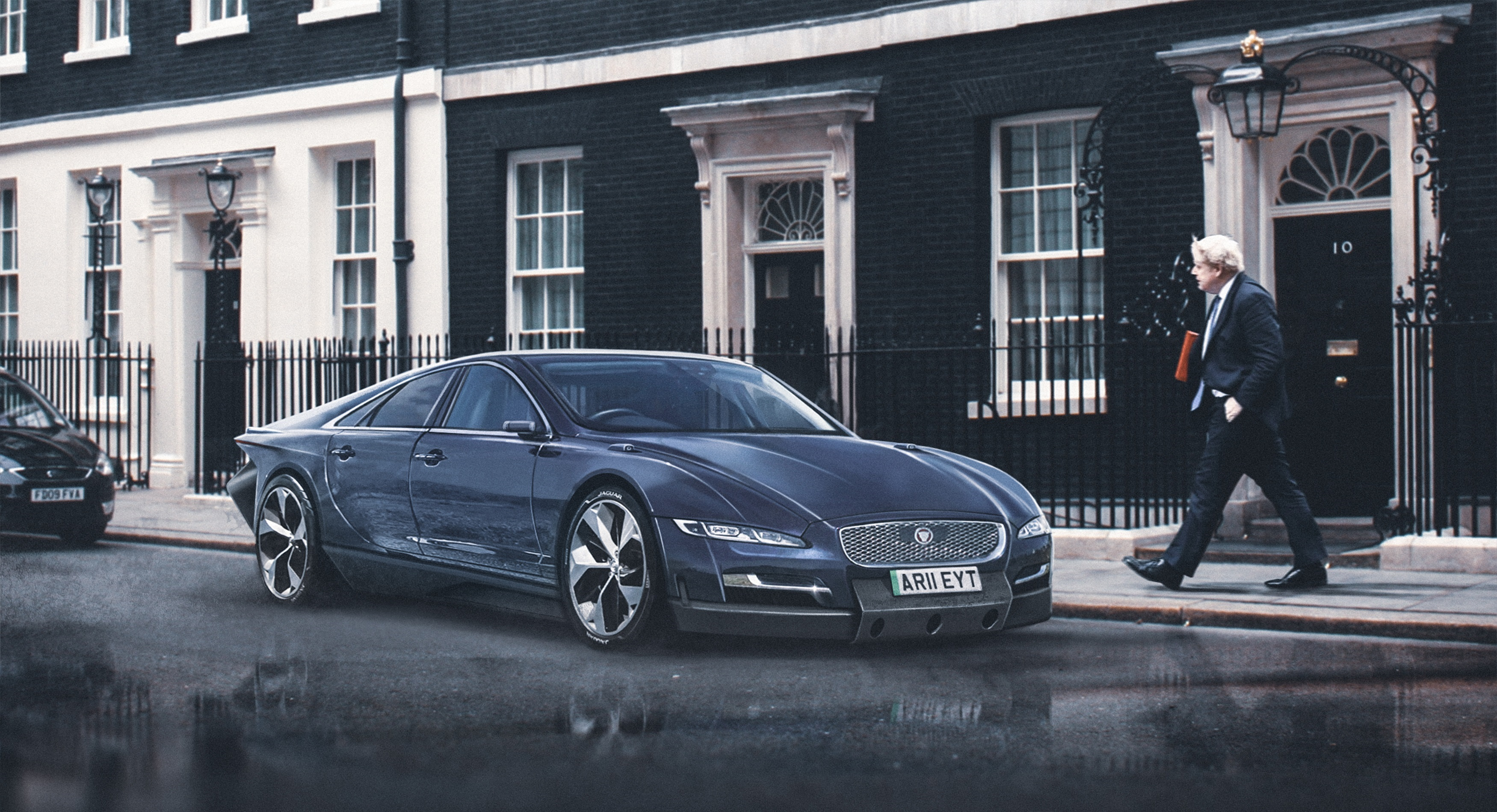 What Electric Presidential Cars Could Look Like
