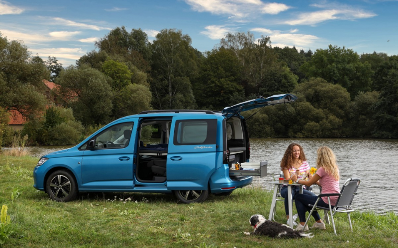 Get To Know The New Volkswagen Caddy California