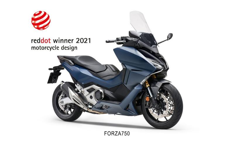 Honda Forza 750 Takes Home Prize At Red Dot Design Awards