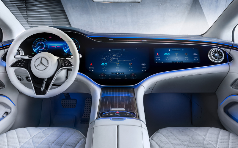 Step Inside The All-New Mercedes-Benz EQS